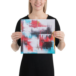 beautifull canvas artwork abstract painting handmade