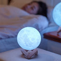 3D Moon Led Sensor Table Lamps For Bedroom Living Room