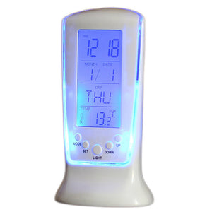 Multi-Function with Smart Battery Led Alarm Clock