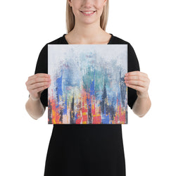 Canvas art abstract painting for wall decor