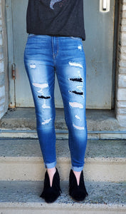 Clarissa Distressed Skinnies (KanCan)