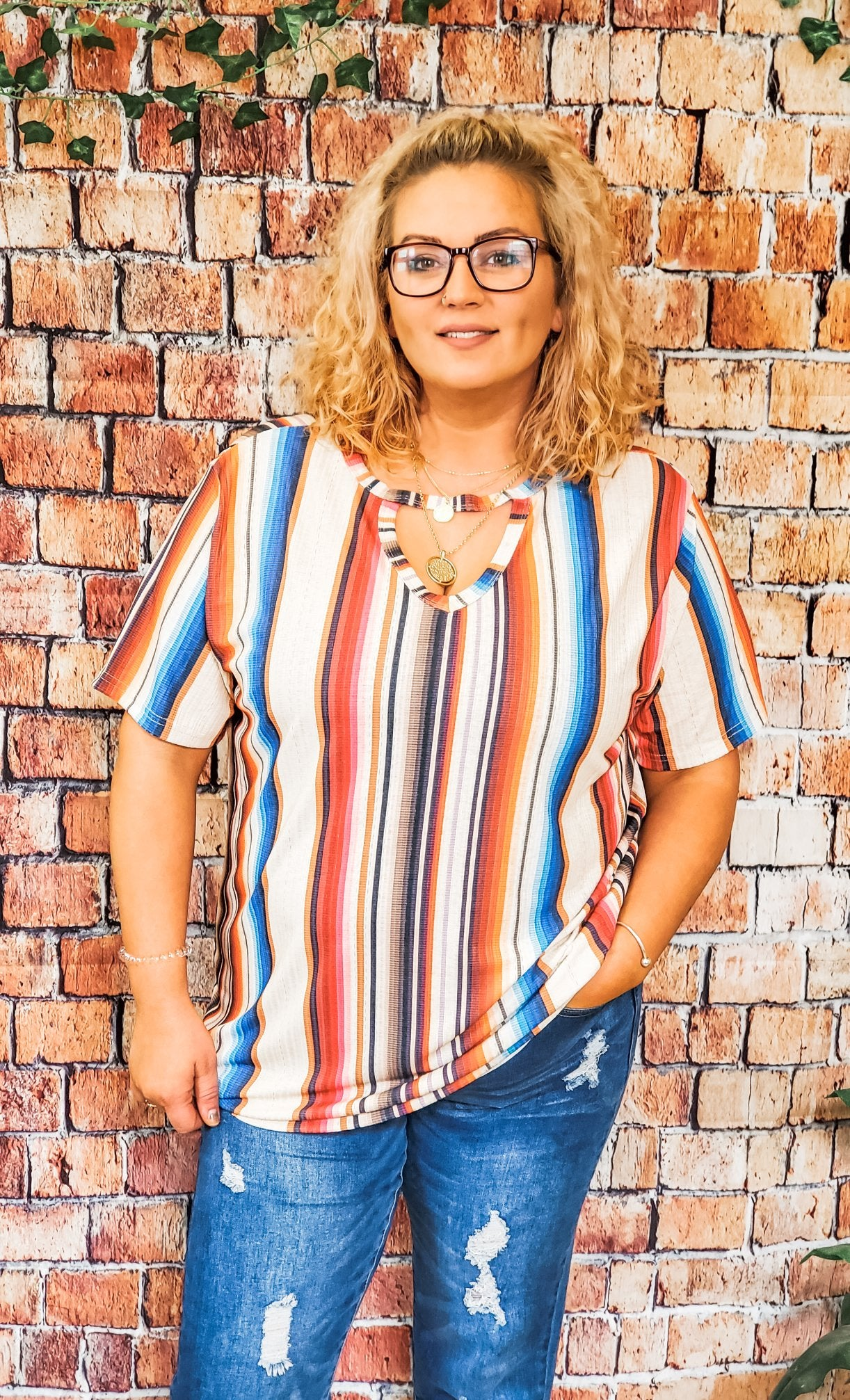 West Bound Serape Top (3XL)
