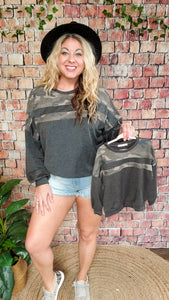 Cute In Camo Long Sleeve - Adult