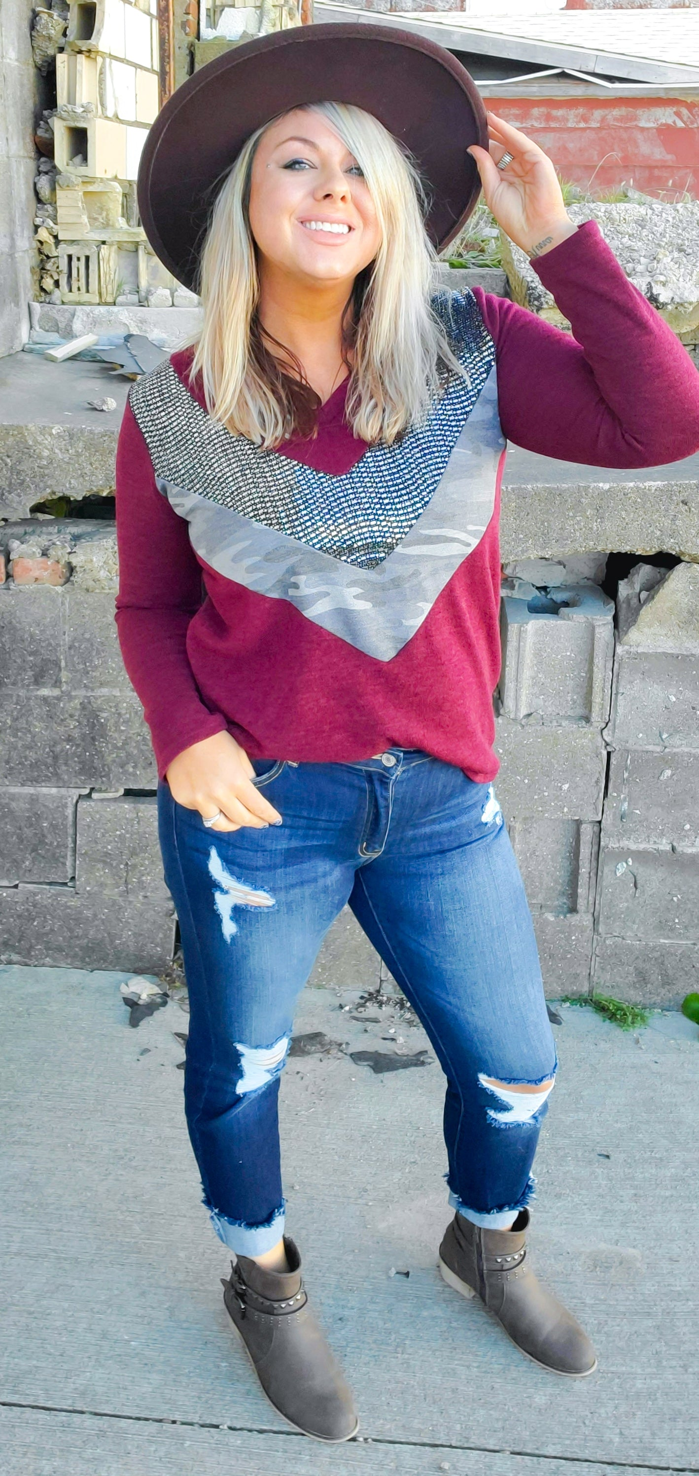 Catalina Wine Mixer Sweater