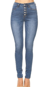 Everyday High Rise Skinnies - Hammer