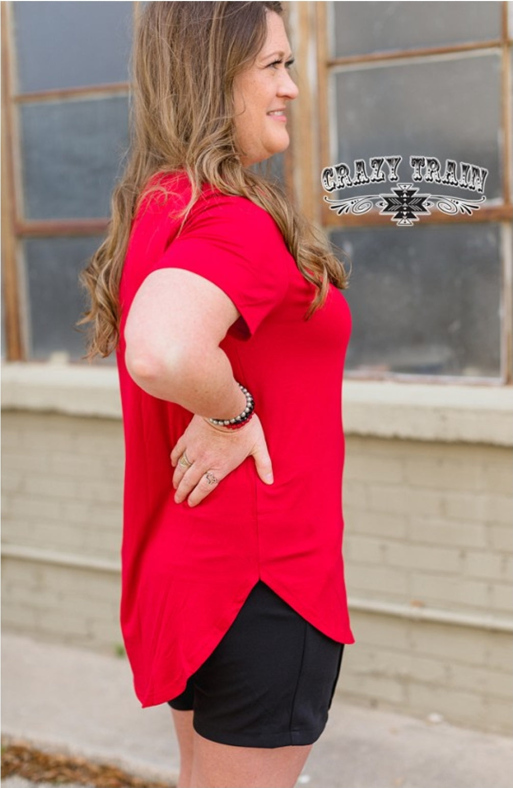 Butter Basic Top - Red