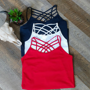 Caged Front (Fat Sucker) Camisole (Multiple colors)