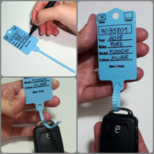 Load image into Gallery viewer, Car Key Tag (Box of 200)