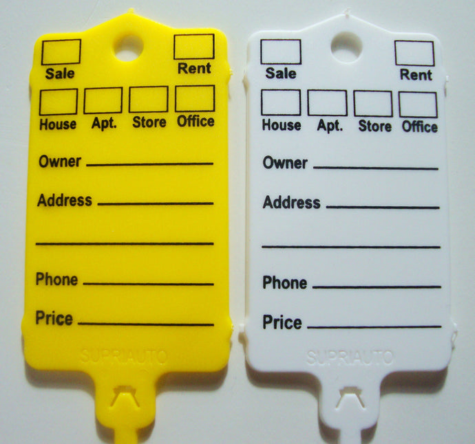 Real State Key Tags (Bag of 48)