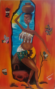 """African Beauty"" by Ssuuna Frank"