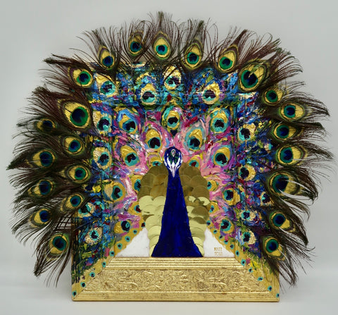 """Elaborate Peacock"" by Kate Tova"