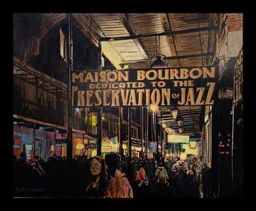 """Maison Bourbon"" by Keith Oelschlager"