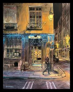 """Rue Saint-Louis"" by Keith Oelschlager"