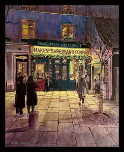 """Shakespeare and Company"" by Keith Oelschlager"