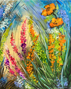 """Field Of Florals"" by Nancy Allen"