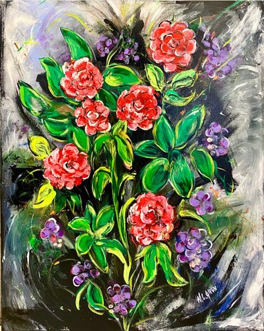 """Rosy Bloom"" by Nancy Allen"