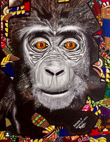 """Young Gorilla"" by Ssuuna Frank"