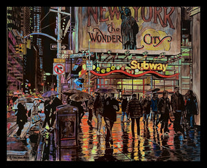 """Wonder City Subway"" by Keith Oelschlager"