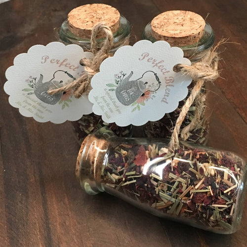 Glass Jar w/ Cork Lid