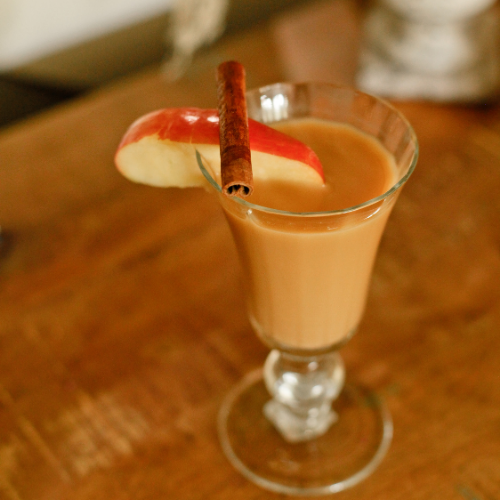Caramel Apple Ginger Beer Punch