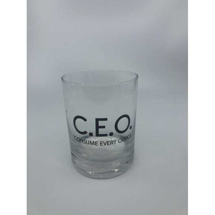 C E O Rocks Glass