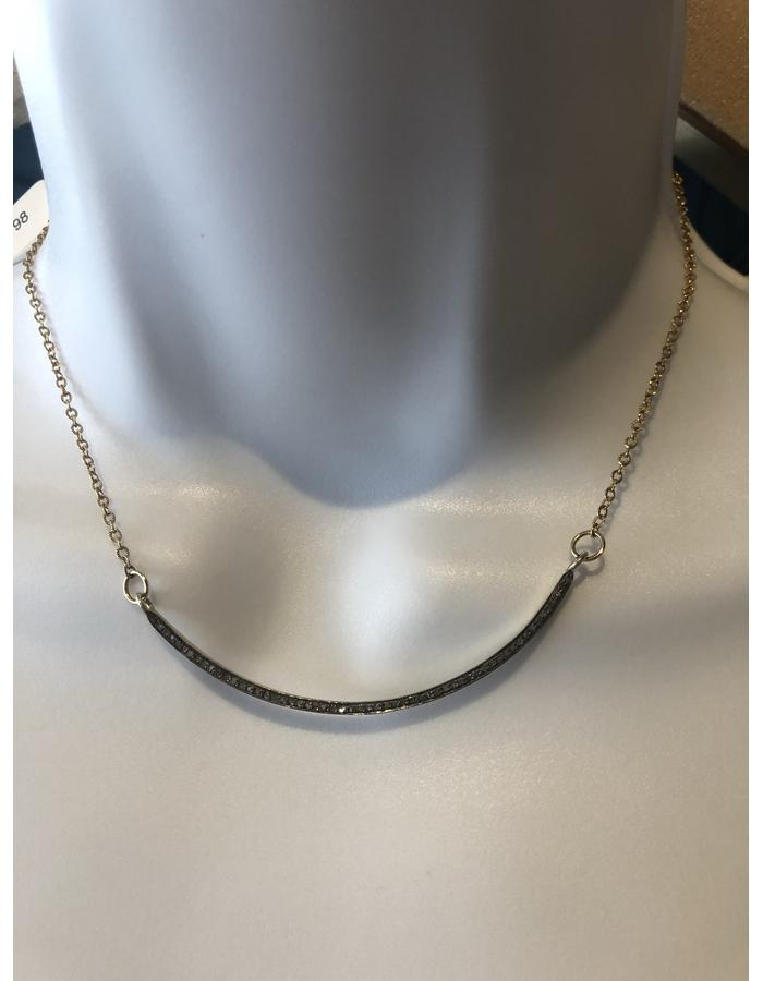 Curve Diamond Necklace