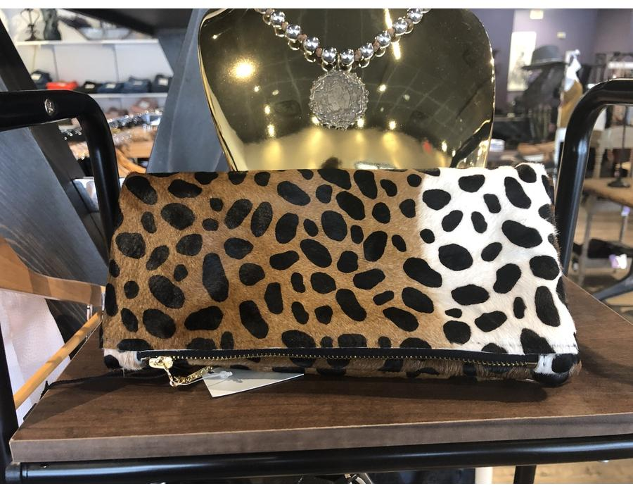 Fold Over Clutch Cheetah