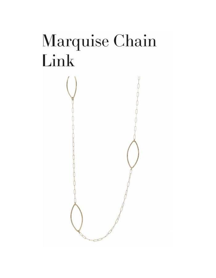 Marquise Chain Link