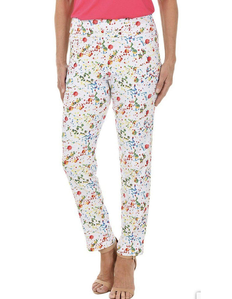 Pull on Pant Krazy Larry Splatter