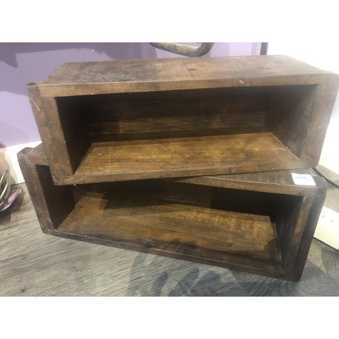 Reclaimed Wood Containers