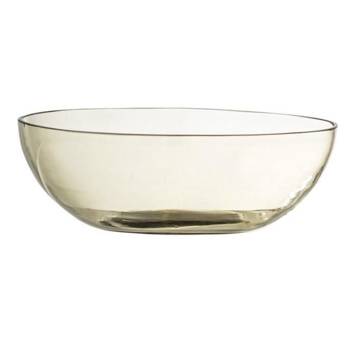 Round Recycled Low Bowl