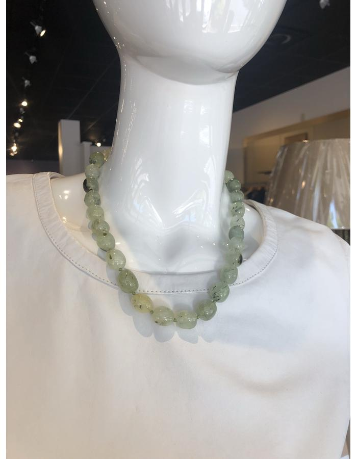 Stone Necklace Collar Length