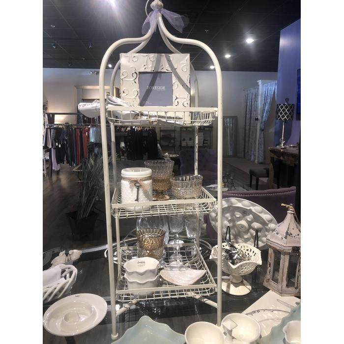 Tiered Metal Basket Stand