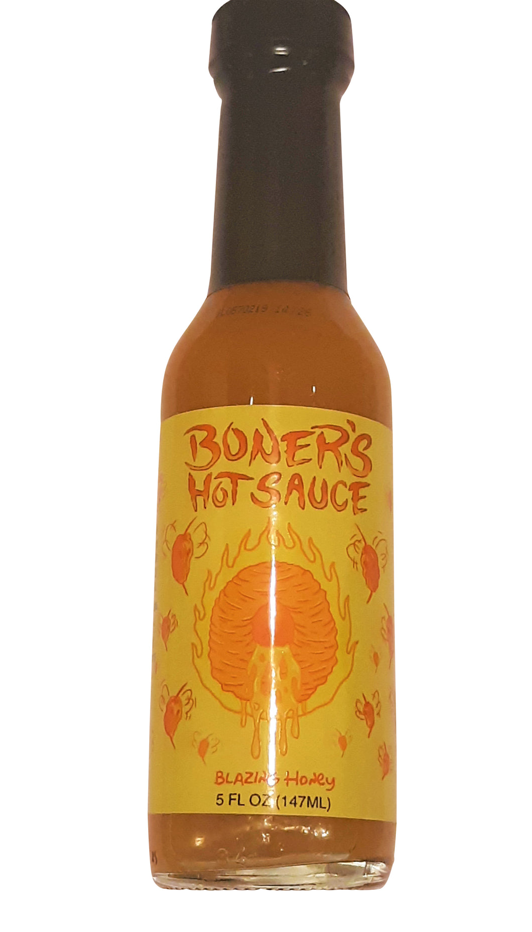 Boner's Blazing Honey: Habanero Hot Sauce