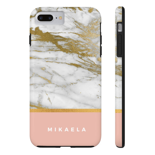 Coral Name Marble