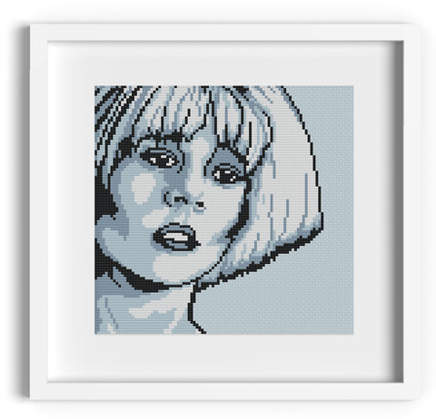 'Chiana' Farscape Cross Stitch Pattern