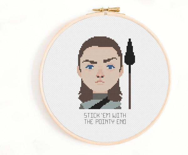Game of Thrones Cross Stitch Pattern