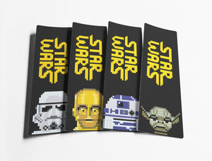 Star Wars Cross Stitch Bookmarks Pattern