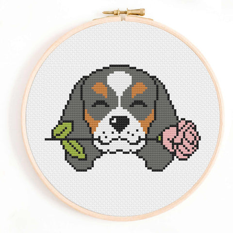 Spaniel Cross Stitch Pattern