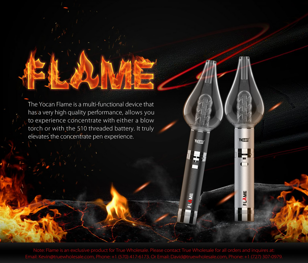 Yocan Flame Vaporizer Description Image