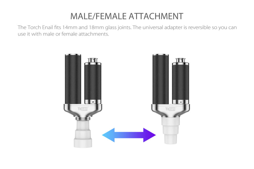 male or female torch enail universal adapter