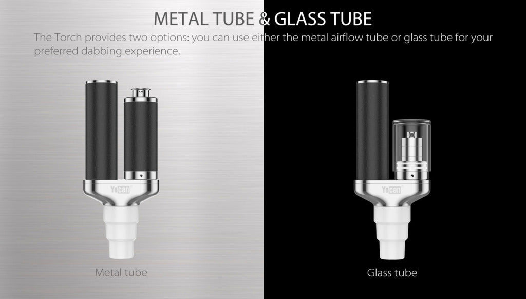 Yocan Torch metal tube and glass tube
