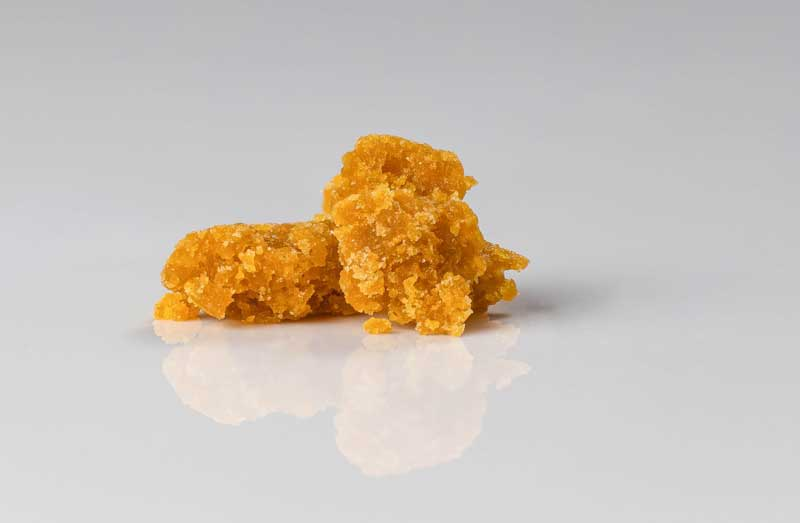 Concentrate wax used for dabbing