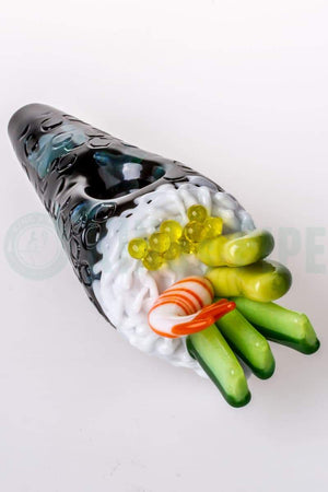 Empire Glassworks - Hand Roll Sushi Glass Pipe