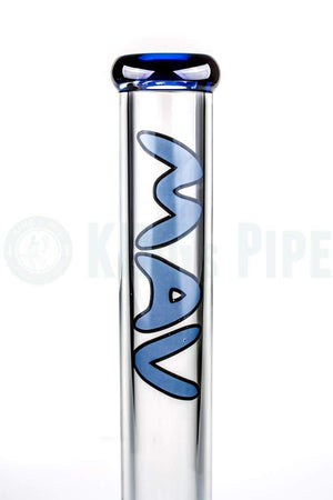 MAV Glass - 18 inch 9mm Bent Neck Beaker Bong