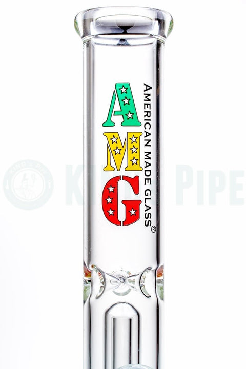 AMG - 13'' Showerhead Perc Straight Water Pipe
