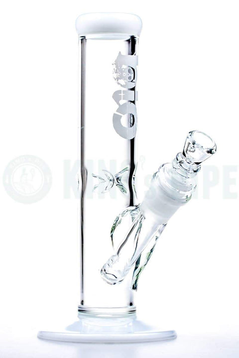 Bio Hazard - 8'' Straight Travel Water Pipe