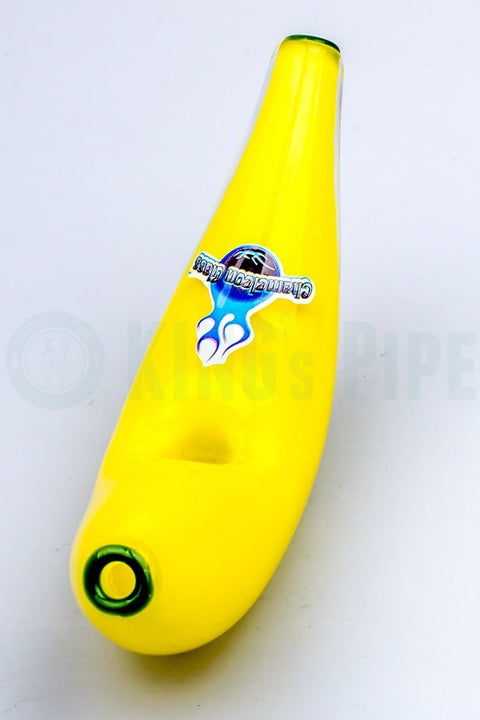 Chameleon Glass - Banana Hand Pipe