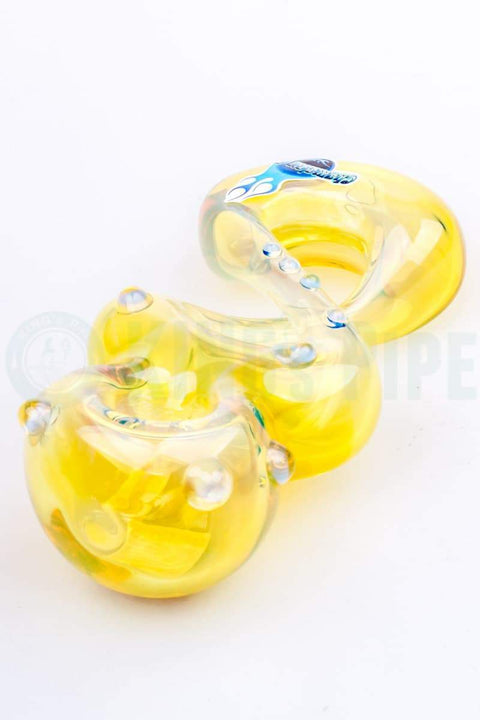 Chameleon Glass - Fumed Pretzel Glass Pipe