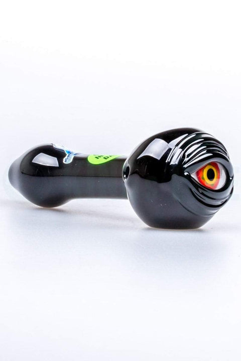 Chameleon Glass - Glow In The Dark Cyclops Hand Pipe